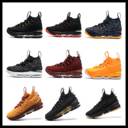 Venta De Calzado Baratos-Soldiers 10 kids Basketball shoes for sale envío gratis Wholesale James Children sneakers With Box Drop Shipping talla 36-40