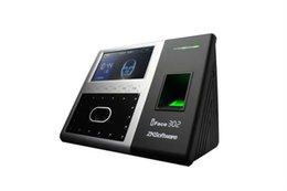 Биометрические время и посещаемость опознавания стороны машина и прибор контроля допуска двери с интерфейсом USB IP RS485 232 TCP iFace302 на Распродаже