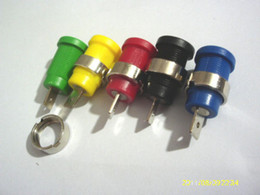 Mini Jack Connectors Canada - 1000 pcs Binding Post Banana Jack for 4mm Safety protection Plug connector