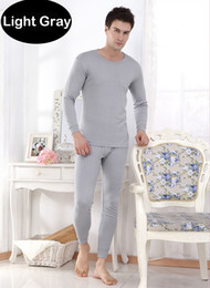 Wholesale 2pcs Hot Men s Thermal Underwear Suits Top Bottom Fur Fleeced Long Johns Waffle Knit Keep Warm Undershirt Leggings Run Small Set
