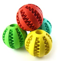 toy play food NZ - Pet Puppy Sound ball leakage Food Ball sound toy ball Pet Dog Cat Squeaky Chews Puppy Squeaker Sound Pet Supplies Play