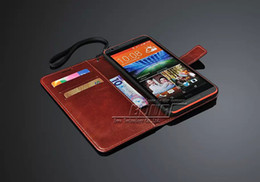 desire holder 2019 - Vintage Wallet PU Leather Case For HTC Desire 820 with Stand Card Holder Flip Style Drop Ship