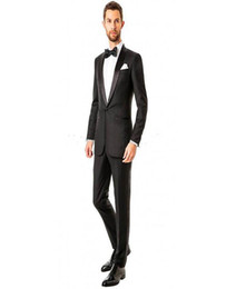 best hottest tuxedos 2019 - Hot ! Free Shipping New Sports Suit Groom Tuxedos Side Slit Best Man Suit Wedding Suits For Men Bridegroom discount best