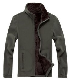 $enCountryForm.capitalKeyWord Canada - Men's Thick Jackets Softshell Fleece sportswear 6XL 7XL 8XL Woolen Warm Hoodies Casual Thermal Coats Solid Sweatshirts for men