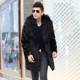 Discount Mens Black Fox Fur Coat | 2017 Mens Black Fox Fur Coat on ...