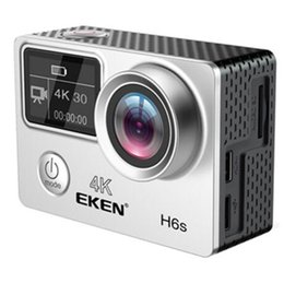 Action cAmerAs 4k online shopping - EKEN H6S Native K Full Time EIS Ultra HD Action Sports Camera WIFI HDMI Dual screen Wide Angle remote control waterproof DV
