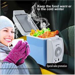 Großhandel 2017 tragbare Multifunktions Auto Kühlschrank Kühler-Wärmer 12 V 7.5L Kapazität Angeln und Radfahren Reise HUANJIE-FREE VERSCHIFFEN