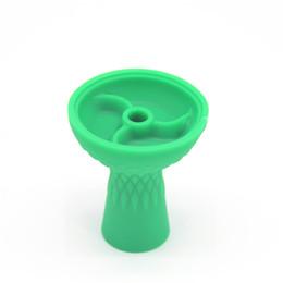 $enCountryForm.capitalKeyWord Canada - Smoking Dogo Heat Resistant Colorful 3 Vortex High Grade Samsaris Hookah silicone smoking Bowl Shisha bowls black red green blue