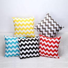 striped sofa pillows new arrived cotton canvas striped pillow cases cushion cover throw pillowcase linen