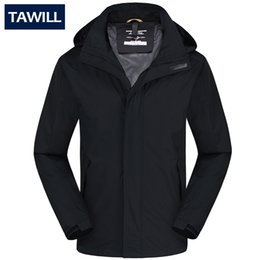 Fall-TAWILL  New Men Jackets Outdoor Casual Sports Coat Ski Camping Climbing Outwear Waterproof Windproof Plus Size L-6XL 66056