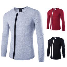 Discount Mens T Shirt Collar Designs | 2017 Mens T Shirt Collar ...