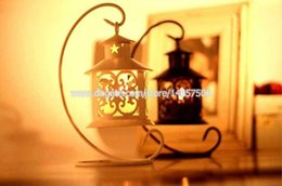 $enCountryForm.capitalKeyWord Canada - Classical Wrought Iron Moroccan Tabletop Lantern Ornate Metal Candle Holder Delicate Morocco Metalwork Lamp Wedding Decoration