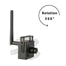 New Super Mini Ip Camera Wireless 720p Cameras Wifi Cctv Video Camera Indoor H 264 Smallest 1 0mp P2p Home Security Cam Onvif