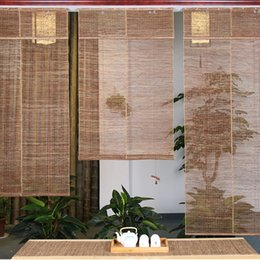Fabric Custom Made Half Curtain Japanese Living Room Partition Kitchen  Bathroom Chinese Bedroom Toilet FengShui Waterproof Mildew Thickening