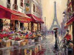 $enCountryForm.capitalKeyWord Canada - contemporary art Landscape Brent Heighton Painting oil on canvas April in Paris High quality Hand painted