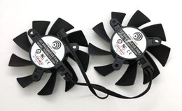 power logic fans 2019 - New Original for Power Logic PLA08015S12HH 12V 0.35A for EVGA GTX660Ti graphics card cooling fan cheap power logic fans