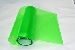 shipping film for cars UK - 0.3*10m roll PVC headlight tint Dark Green for car head decoration Fedex free shipping