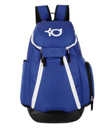 kd backpacks Canada - 2017 American men and women Durant Basketball Bags Thunder Sports Shoulder Bag KD Backpack student bags Computer Bag Travelling bag