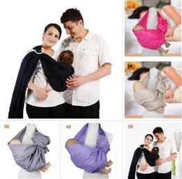 e9b744f37bf New Baby Cotton Carriers ring Slings Toddler Infant Comfortable Breathable  loop Sling Baby multifunctionalback towel strap BY005