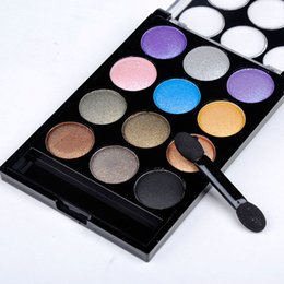 Eye Warmer Canada - New Arrival 12 Colors Natural Warm Eyeshadow Eye Shadow Palette Cosmestic Makeup Set Beauty Supply