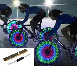 Flashlight Packaging NZ - Bike wheel light flashlight led bycicle light lamp for moutain bike accessories parts with retail package