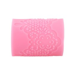 cake lace moulds UK - Fashion Silicon Mold Cake Decoration Fondant ANSELF MJ-LFM-45 Chocolate Baking Mould Strip Lace Mat