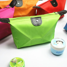 $enCountryForm.capitalKeyWord Canada - wholesale 11pcs Cheap cosmetic bags 11 color makeup bags candy color travel outdoor admission wash package hight quality free shipping DHL