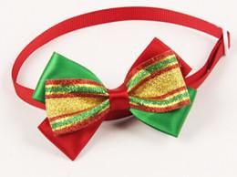 $enCountryForm.capitalKeyWord Canada - Wholesale-50PC Lot Mixed Styles Pet Dog Neck Ties For Christmas Holiday Ribbon Bow Ties Dog Adjustable Tie Collars Neckties