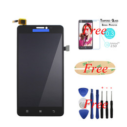 Lcd screen repair for Lenovo online shopping - For Lenovo S850 S850T LCD Display Touch Screen Digitizer Assembly Replacement Repair Glass Panel Adhvise Tools Tempered Glass