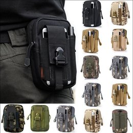 Mobile case packing bag online shopping - Outdoor Sports Tactical Bags Pockets Waist Bag Sport Running Mobile Phone Case Purse Pack Gadget Pocket Styles OOA3758