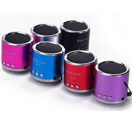 speaker boxes 2019 - super bass portable speaker mini speaker subwoofer speaker box with led light music speaker for mobile MP3 multimedia pc