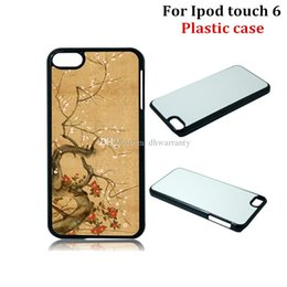 $enCountryForm.capitalKeyWord NZ - For Ipod Touch 6 Cases DIY 2D Sublimation Heat Press Plastic Cover Case With Blank Metal Aluminium Plates DHL Free