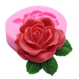 $enCountryForm.capitalKeyWord Canada - Flower shape Chocolate Candy Jello 3D silicone fondant lace Mold Mould cake decoration pastry tools