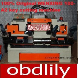Wenxing Keys Cutting Machine Canada - 100% Original WENXING 100-A2 key cutting machine. key copy machine120w,locksmith tools.free shipping!!!
