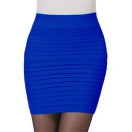 11b28c647 8 Fotos Faldas rectas de algodón en venta-Color Algodón de las mujeres  Sólidas Mujeres Faldas Skater