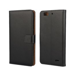 $enCountryForm.capitalKeyWord UK - Wholesale Black High Quality Genuine Leather Wallet Cover Case For ZTE Blade S6 Plus Q7 with Stand Function and Card Holder Phone Case