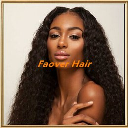 $enCountryForm.capitalKeyWord Canada - 2016 Promotion! kinky curly 1#,1b,2#,4#,Natural Color Brazilian Human Virgin Hair 130% density full Lace wig lace front wig with baby hair