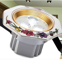 $enCountryForm.capitalKeyWord UK - Hot Sale Special Offer Warm White Cool White Luces Led Spot Led Rose Series Ceramic Light Quality Downlight Modern Brief Rustic Lamp 3w