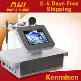 Vente en gros Peau de radiofréquence serrant la machine de beauté rf de retrait de ride machine faciale rf monopolaire DHL livraison gratuite