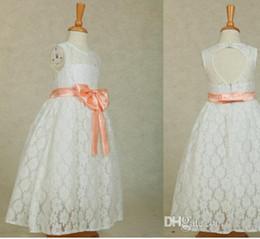 $enCountryForm.capitalKeyWord Canada - Flower girl dress, baby girl dress, lace flower girl dress, toddler girl dress, backless flower girl dress, short white lace girl dress