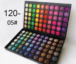 best selling makeup palette Canada - no logo 120 color mini makeup palette 60*2 eye shadow somky shining matte holiday national dayly makeup hot sell in best price