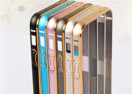 $enCountryForm.capitalKeyWord Canada - Aluminum Metal Alloy Bumper Frame Hippocampal Buckle Case For iPhone 5S 6 6S Plus