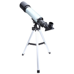 Astronomy Telescopes Canada - F36050 360 50mm Outdoor Monocular Astronomical Telescopes Spotting Scope Refractive with Portable Tripod 1pc lot