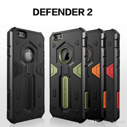 Diseñador Urbano Baratos-Cubierta híbrida de TPU + PC Urban Air Armour Shell Phone Case para iPhone 6 Plus / 6s Plus 5.5 pulgadas Diseñador de marca Anti-knock Defend de calidad superior