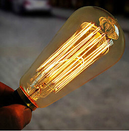 $enCountryForm.capitalKeyWord Canada - 110V 220V Vintage Edison Bulb Industrial Incandescent Lights E27 Base 40W Antique Bulbs With High Quality Tungsten Filament Warm White