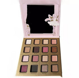 fun palette UK - TF Sugar Plum Fun Eyeshadow Palette 16 Color Matte and Shimmer Shades Eye Shadow Palette Fairy set Makeup Maquiagem Highlighter