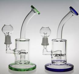 Branded Bongs Canada - Newest toro hitman glass art glass bong oil rig dabs water pipe hookah Inline perk Brand bong smoking pipe glass pipe
