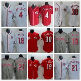 4f919ff87 ... Cincinnati Reds Jerseys Johnny Bench Billy Hamilton Joe Morgan Barry  Larkin Dave Concepcion Pete Rose Joey ...