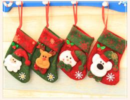 $enCountryForm.capitalKeyWord Canada - Christmas Gift Bag Ornaments Sequins Embellished Non Woven Fabrics Christmas Socks Party Gifts For Kids Candy Bag Christmas Stockings