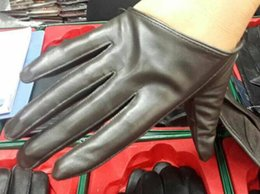 $enCountryForm.capitalKeyWord Australia - Fashion Five Fingers Leather Suede Gloves half gloves Half Palm Gloves 10pairs lot #1503